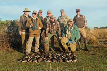 Argentina Hunting group leaders