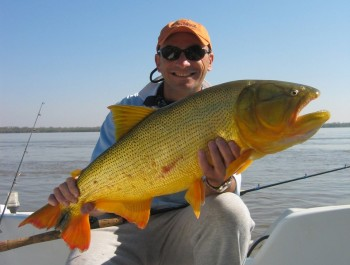 Golden dorado fishing in argentina wing shooting for Fishing in argentina
