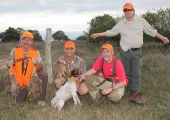 Argentina Perdiz hunting