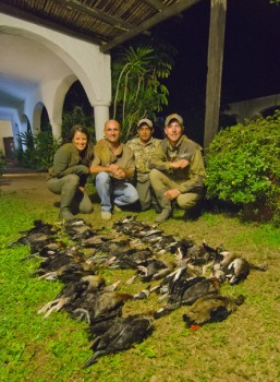 Best Argentina duck hunt